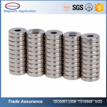 high performance small round neodymium magnet for handbags